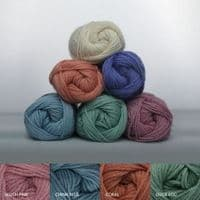 Ophelia Lace & Cable Top Knitting Kit